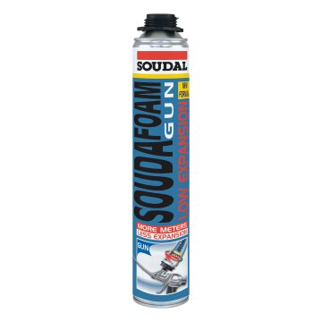 Монтажная пена Soudal Soudafoam Low Expansion Gun 750 мл